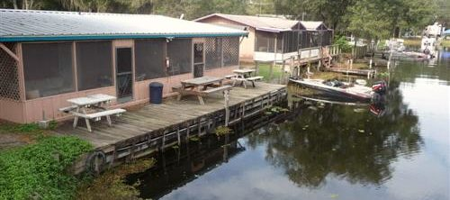 Trails End Fishing Resort Cabin Rentals