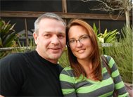 Photo of Trails End Fishing Resort owners Tracie and Guido Fischer