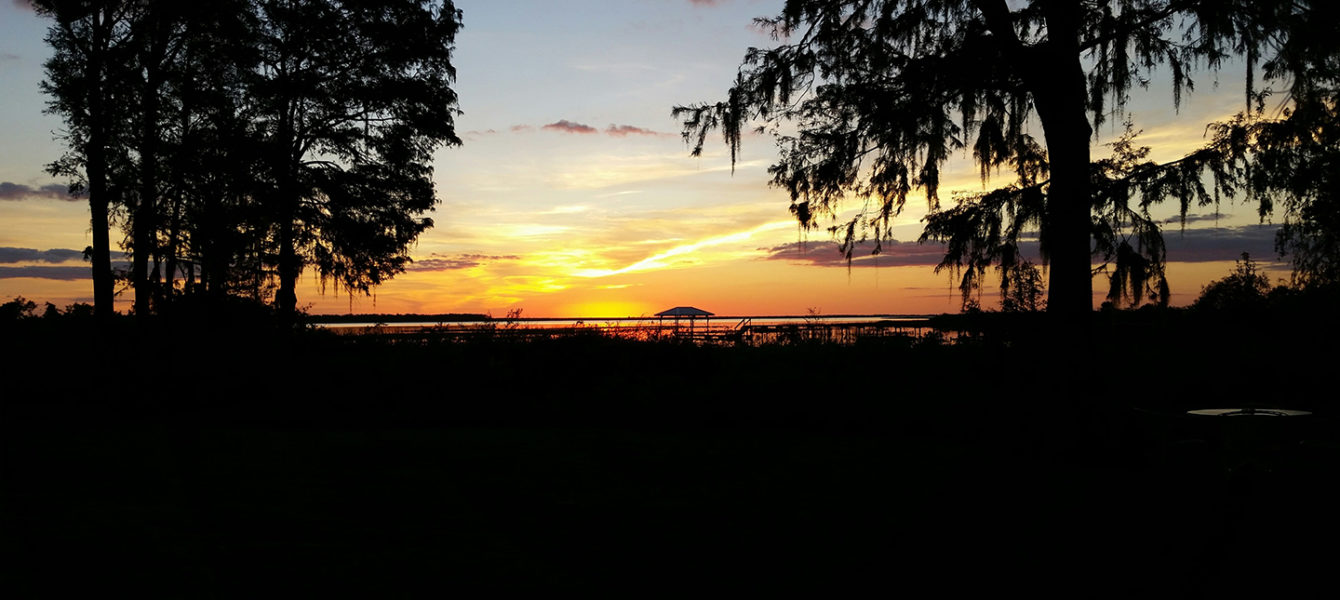Photo of Sunset at Trails End Fishing Resort